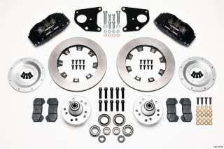 Dynapro 6 Mopar B E Body Front Disc Brake Kit 12