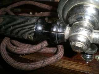 1923 CRANK FIELD PHONE BY L.M. ERICSSON TEL.MFG.CO. BUFFALO, NY