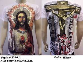 Full Print Jesus, t shirt , made in USA Style# T 541