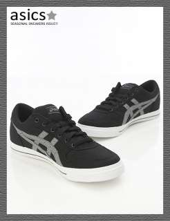 Brand New ASICS AARON CV Shoes Balck/Gray #71B