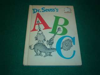 Dr. Seusss ABC Beginner Books Groiler Book Club Ed 9780394800301
