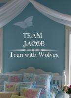 Twilight Vinyl Wall Words Quotes Decal * TEAM JACOB