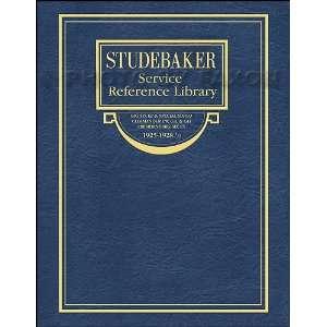 1925 1928.5 Studebaker Repair Shop Manual Big 6 Special
