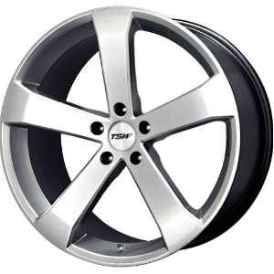 TSW Alloy Wheels Vortex Hyper Silver Wheel (18x8/5x114