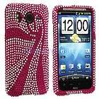 Pink Swirl Bling Hard Case Cover Accesso