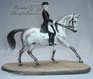 it has now been custom painted by award winning equine artist sheryl