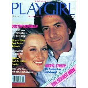 PLAYGIRL MAGAZINE, issue dated November 1979: Dustin