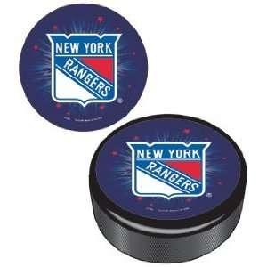 NHL New York Rangers Hockey Puck