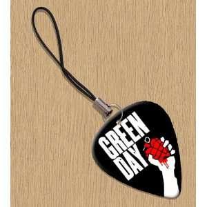 Green Day American Idiot Premium Guitar Pick Phone Charm