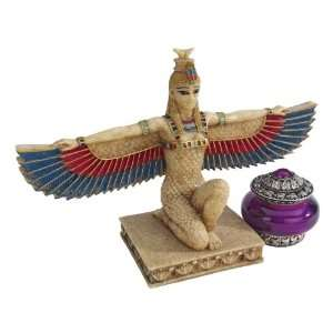 Ancient Egyptian Goddess Isis Statue Sculpture Figurine