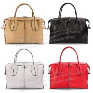 High quality genuine leather Boston handbag womans tote shoulder bag