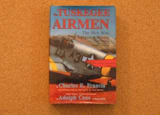 Book on African American pilots Tuskegee Airmen SIGNED