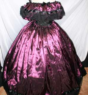 /blk/taffeta/Dicken/CIVIL WAR/VICTORIAN/BALL GOWN 10 12 14