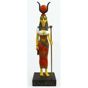 Hathor ~ The Goddess Of Love ~ Egyptian Figurine  Home