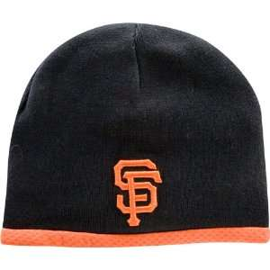 New Era San Francisco Giants Youth AC Knit Cap (Black