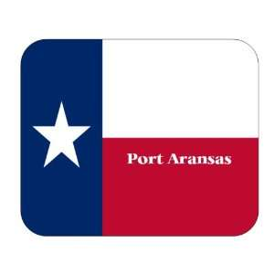 US State Flag   Port Aransas, Texas (TX) Mouse Pad
