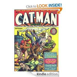 Cat Man Comic Book Issue 4 Irwin Hasen, Charles Quinlan