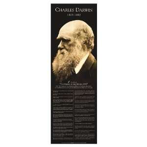 Darwin, Charles Movie Poster, 11.75 x 36 Home & Kitchen