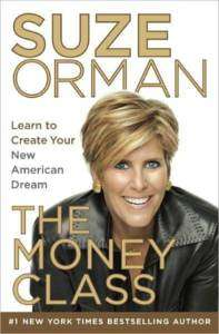 THE MONEY CLASS American Dream Suze Orman 2011 NEW book 9781400069736