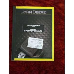 John Deere G100 Lawn/Garden Tractor OEM OEM Owners Manual