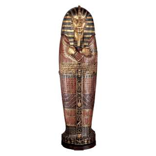Egyptian Statue Sculpture King Tut Tutankhamen Life size Sarcophagus