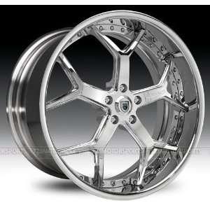 Asanti AF164 24x9.5 24x10 BMW 7 Series Rims Chrome Wheels 4pc  1set