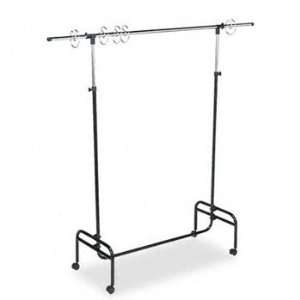 Adjustable Mobile Chart Stand, 48 to 75 High, Steel