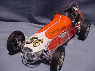 PROTOTYPE SAMPLE GMP VINTAGE DIRT CHAMP CAR RACE 1:18 DIECAST