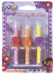 DORA Diego CAKE Party CANDLE Supplies Birthday Topper