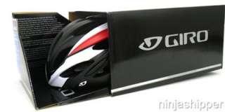 Giro SAVANT Black Red Road Bicycle Helmet Medium MSRP $90 New