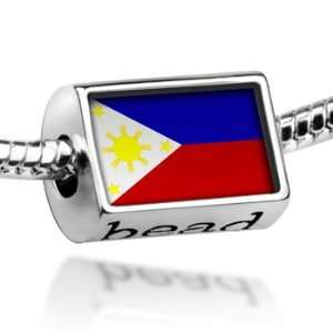 Beads Philippine Flag   Pandora Charm & Bracelet