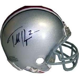 Terrelle Pryor Autographed / Signed Mini Helmet