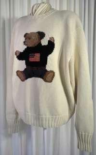 Archival Ralph Lauren Polo Bear USA Crewneck Sweater