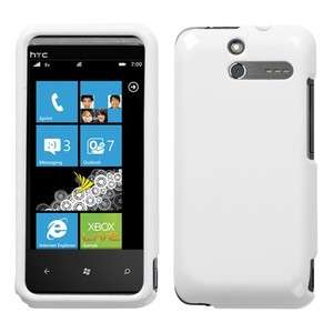 Ivory White Phone Hard Case Cover for Sprint HTC Arrive