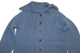 Ugg Powell Deep Cobalt Cashmere Button Sweater NWT XL