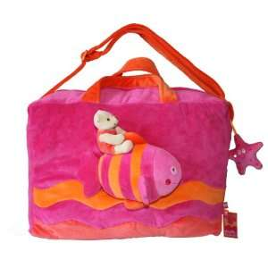 Tuc Tuc Pink Kids Travel Bag. Baby Diaper Tote Bag. 16x 11 x 6. Sea