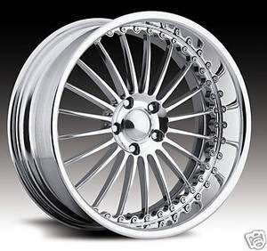 19 STAGGERED PRO WHEELS *NEW* I FORGED HRE ASANTI MHT