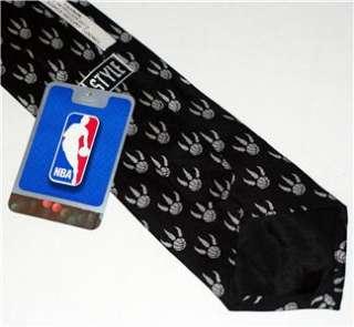 NBA Toronto RAPTORS Sports CRAVAT Ascot NECKTIE TIE NWT
