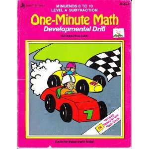 Race for these math facts (One minute math developmental drill
