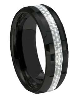 Rings 14k Gold Plated Tungsten Carbide ONE Ring Mens Jewelry