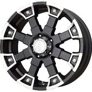 V Tec Matte Black Machined Wheel (20x9/8x170mm