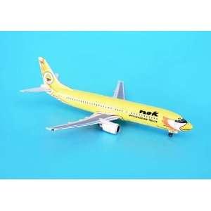 Phoenix Nok Air 737 400 1/400 Yellow Livery