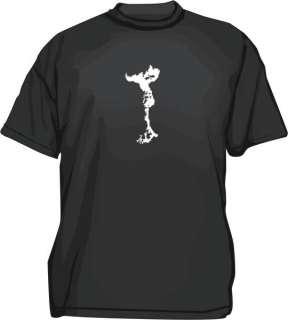 Nuclear Bomb Mushroom Cloud Logo Mens tee Shirt Sm 6XL