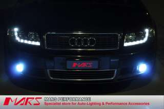 R8 Projector Headlight Head Lights for AUDI A4 S4 B6 00 05 RS4