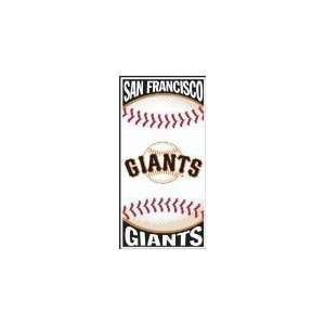 MLB Centerfield Beach Towel San Francisco Giants   Team