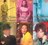 THE AVENGERS DIANA RIGG TV RARE 6 CARD CHASE SET FOIL
