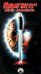 Friday the 13th   Part 7 The New Blood VHS, 1994 097363220930