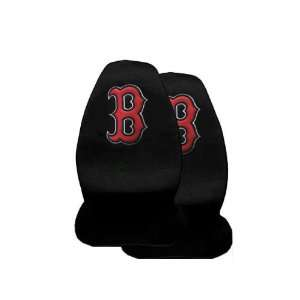 2 Front Seat Covers   Boston Red Sox Automotive