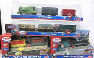 THOMAS AND FRIENDS TRACKMASTER MOTORIZED TRAIN LUKE & PAXTON & TOBY