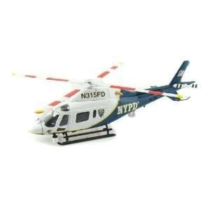 Ford NYPD Agusta A119 Koala Helicopter 1/43 Toys & Games